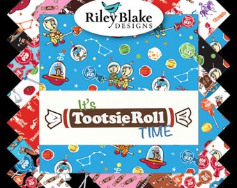 It's Tootsie Roll Time Fat Quarter Bundle (FQ-6810-18)