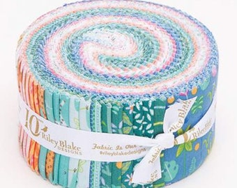 Rolie Polie Under The Canopy by Citrus & Mint Designs for Riley Blake Designs - Jelly Roll - Precut Fabric - (RP-8660-40)