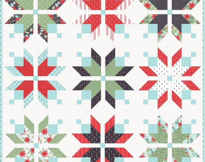 Icebox Quilt Pattern by Lella Boutique (LB-179) - FQ friendly
