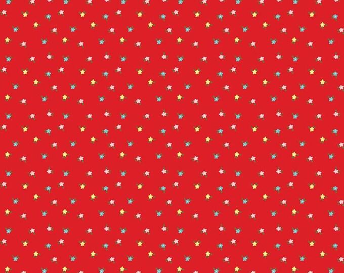 Simple Goodness Red Mini Flowers by Tasha Noel  (C7936-RED)