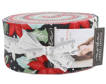Little Tree Jelly Roll Fabric Quilting Fabric by Lella Boutique - 5090JR - Lella Boutique Little Tree Jelly Roll - Moda Precut - Jelly Roll