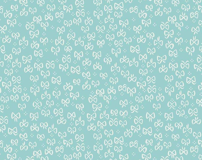 Little Red In The Woods Bows Teal (C8085-TEAL) by Jill Howarth