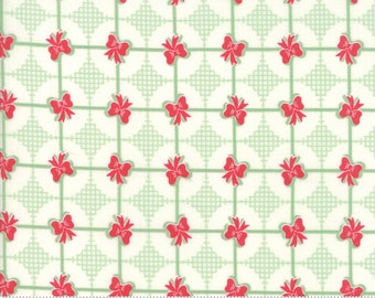 Sweet Christmas - Presents - Spearmint (31157 11) Urban Chiks Sweet Christmas for Moda - Quilting Fabric - Cut Options Available