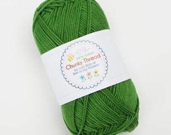 Lori Holt - 50 g Skein Chunky Thread - Basil