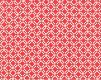 Early Bird Red Check by Bonnie & Camille for Moda Fabrics (55193 11) - Cut Options Available