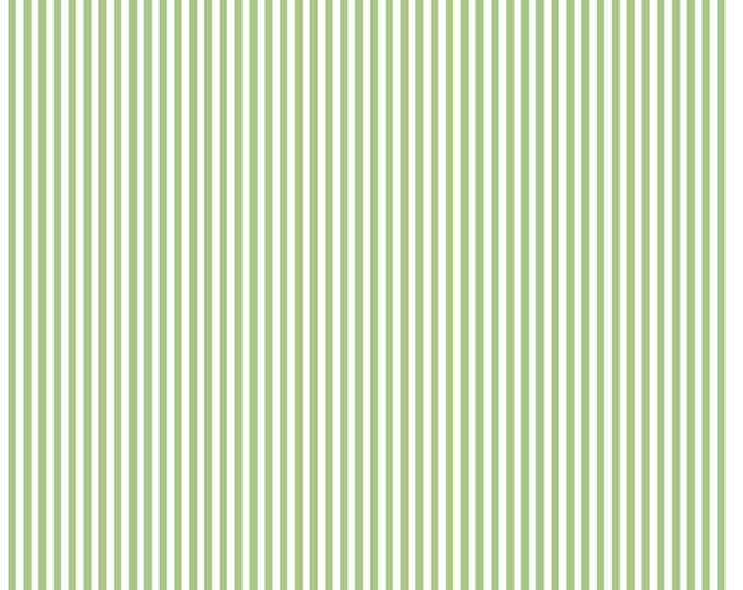 Riley Blake Designs, 1/8 Inch Stripe in Green (C495)