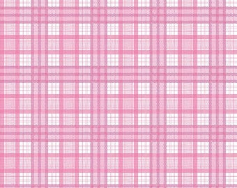 J Is For Jeep - Plaid Pink C6463