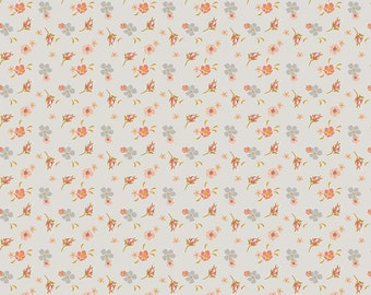 Golden Days Cream Floral by Fancy Pants Design for Riley Blake Designs (C8601-CREAM) - Cut Options Available