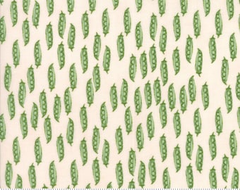 Darling Little Dickens (49003 15) Cheeks Peasinpod by Lydia Nelson - SALE - Pea Pod Fabric - CLEARANCE