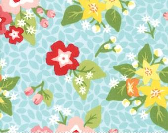 Orchard Blossom - Sky Blue - April Rosenthal Orchard for Moda Fabrics (24070 14)