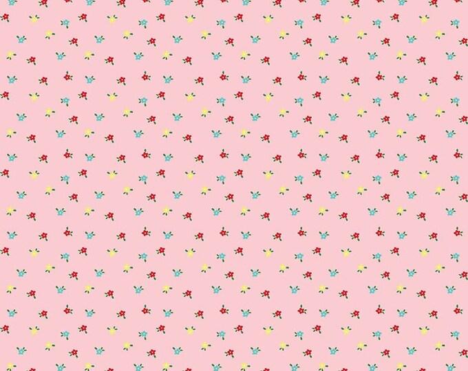 Simple Goodness Pink Mini Flowers by Tasha Noel  (C7936-PINK)