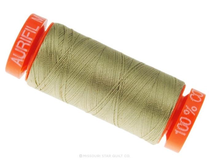 MK50 2900 - Aurifil Light Khaki Green Cotton Thread
