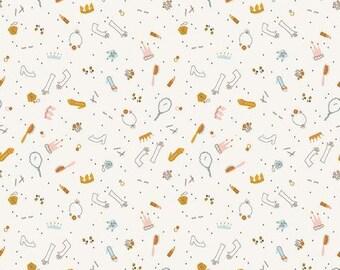 Guinevere Dress Up Cream (C7094 Cream) for Riley Blake Designs