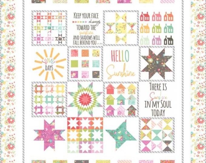Sunnyside Up Quilt Kit using Pattern #136, Sunny Sampler by Corey Yoder (Little Miss Shabby) (KIT 29050)
