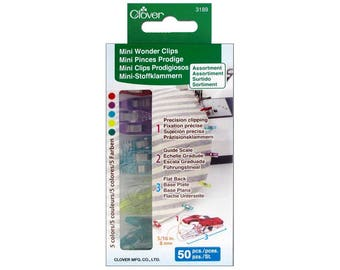 Clover Mini Wonder Clips (50 Pcs) by Clover 3189