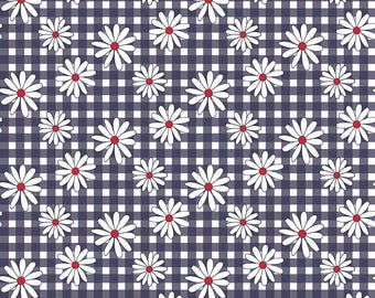 Gingham  Girls, By Amy Smart  Daisy Navy C5901-Navy