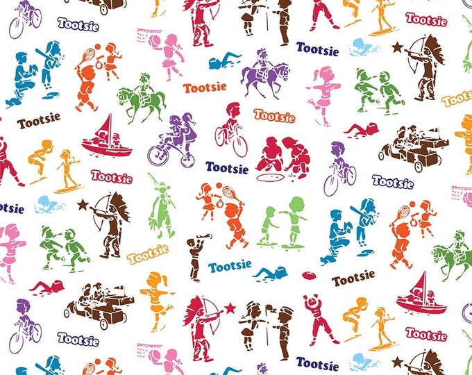 It's Tootsie Roll Time - Tootsie Wrapper C6814-White