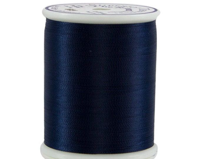 609 Dark Blue - Bottom Line 1,420 yd spool by Superior Threads