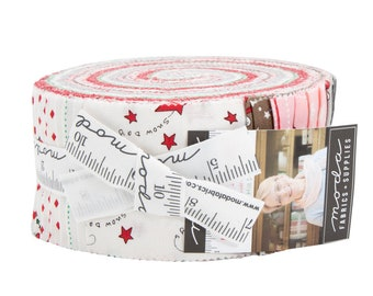 Jelly Roll Merry Merry Snow Days by Bunny Hill Designs - Jelly Roll - (2940JR) - for Moda fabrics