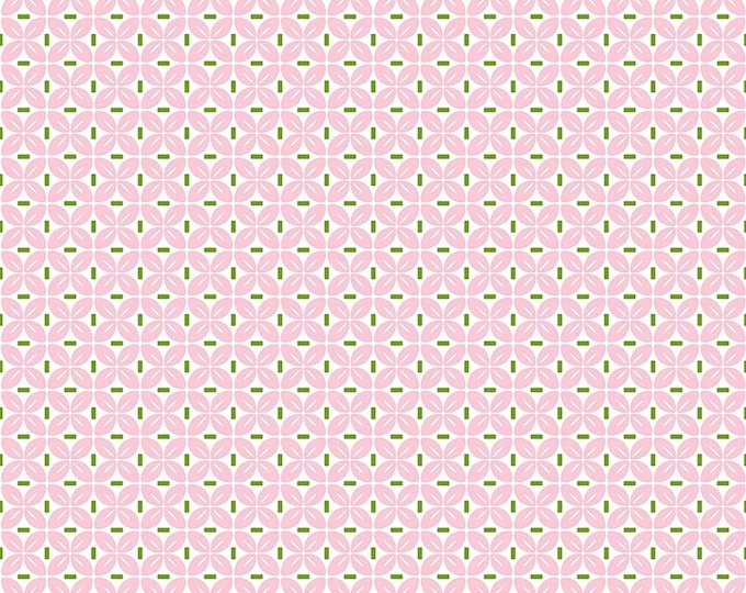 Sew Cherry 2 By Lori Holt Leaf Pink (C5806-Pink)