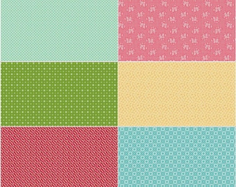 Granny Chic Scrappy Sixth Panel Two by Lori Holt (Bee in My Bonnet) (SSP8525-TWO) - Riley Blake Designs - Lori Holt Granny Chic