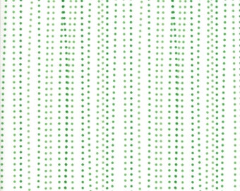 Red Dot Green Dash (22305 22) White Green Sleet by Me and My Sister Designs