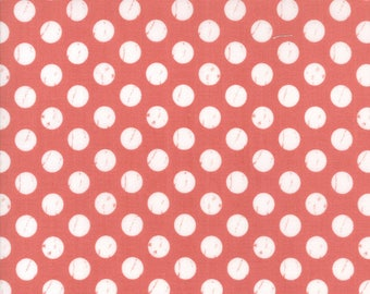 Farmers Daughter (5055 17) Pink Lemonade Shabby Dots by Lella Boutique
