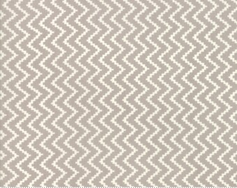 Fig Tree All Hallows Eve Fog Zigzag - (20353 15)  by Fig Tree & Co. for Moda - Halloween Fabric - Cotton Quilting Fabric