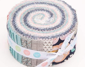 Edie Jane Rolie Polie  by Deena Rutter - Riley Blake Designs - Deena Rutter Edie Jane Jelly Roll - Edie Jane Precut Fabric