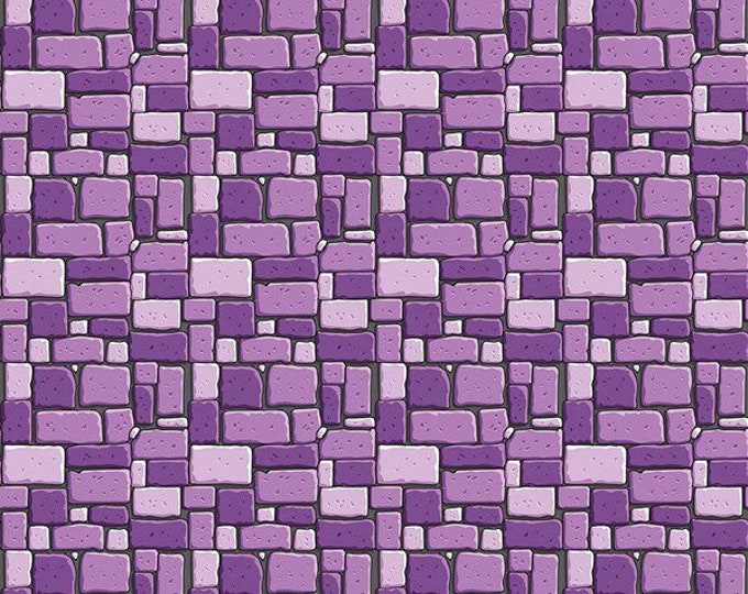 Dragons Rocks Purple (C7664-PURPLE) by Ben Byrd from Dragons for Riley Blake Designs