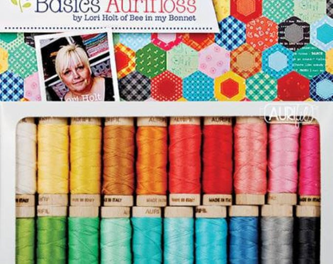 Lori Holt Bee Basics 100% Aurifil Cotton Embroidery Floss