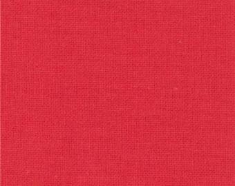 Bettys Red (9900 123) - Bella Solids fabric Moda Basics