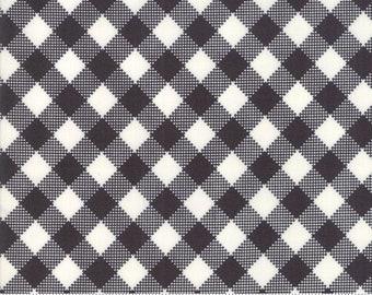 Merry Starts Here - Joy - Black and Cream- Sweetwater - Moda Fabrics - Christmas Fabric - (5734 13) - Sweetwater Merry Starts Here