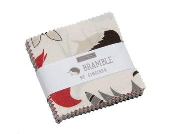 Bramble Mini Charm Pack by Gingiber for Moda Fabrics (48280MC) - Animal Fabric