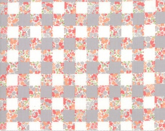 Strawberry Jam Dusk Gingham Garden by Corey Yoder (Little Miss Shabby) for Moda (29063 13)