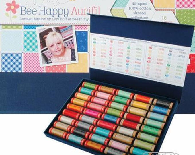 The Bee Happy Collection by Lori Holt - Limited Edition (45 small spools)