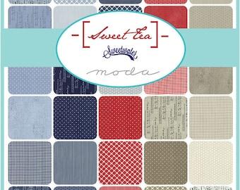 PREORDER: Sweet Tea by Sweetwater for Moda Fabrics - Half Yard Bundle - Complete Set