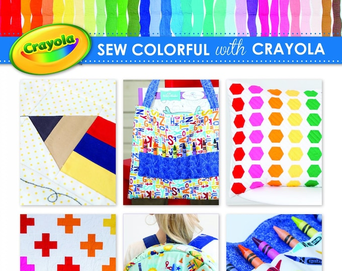 Sew Colorful with Crayola