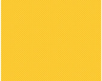 Kisses Tone on Tone Yellow (C210) - Riley Blake Designs - 1/2 yard remnant