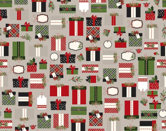 Christmas Delivery Presents Gray C7331-Gray by Carta Bella