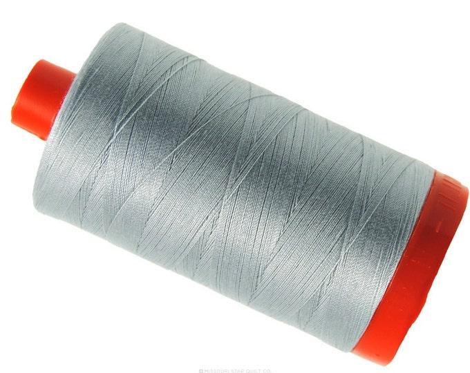 MK50 2600 - Dove - Aurifil Cotton Thread Large Spool (1422 yds)