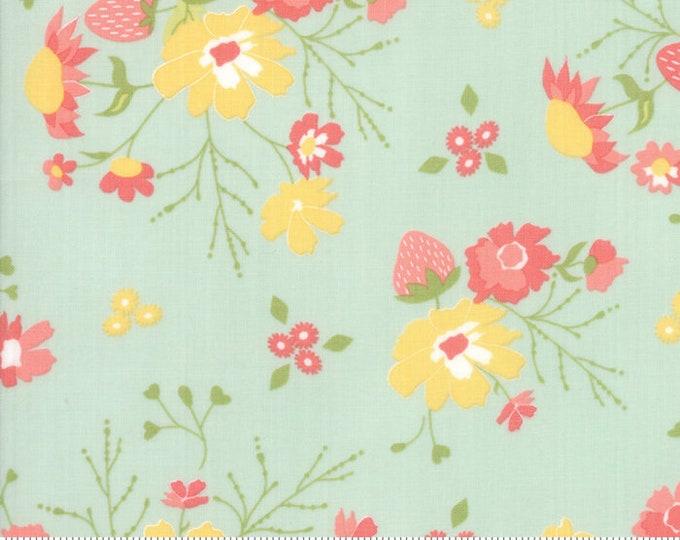 Strawberry Jam Droplet Strawberry Garden by Corey Yoder (Little Miss Shabby) for Moda (29060 19)