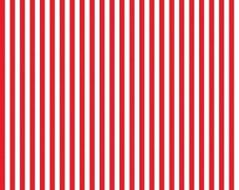 Riley Blake Designs, 1/4 Inch Stripe in RED (C555)