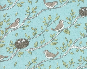 Nest (5061 15) Robins Egg Bird Song by Lella Boutique