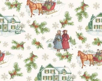 Anne of Green Gables Christmas - Main Beige (C6490-BEIGE)