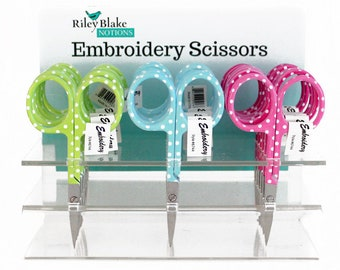 Embroidery Scissors 3.5 inches - Polka Dots