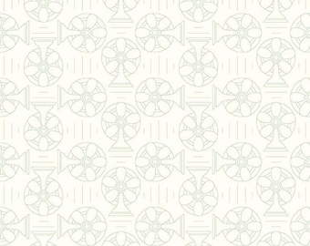 Bee Backgrounds By Lori Holt Cool Green (C6390-Green)