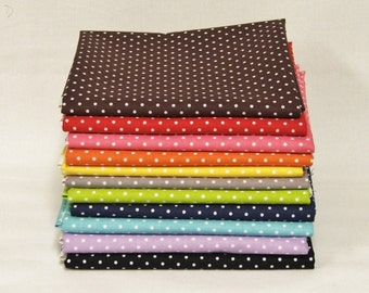 Riley Blake Swiss Dots bundle - 11 Fat Quarters