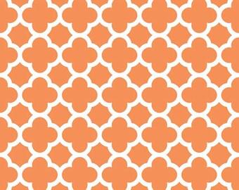 Quatrefoil in Orange (C435-60)