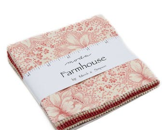 Farmhouse Reds (14850PP) by Minick & Simpsom - Charm Pack